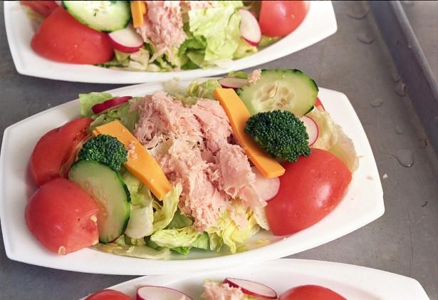Verduras y proteinas