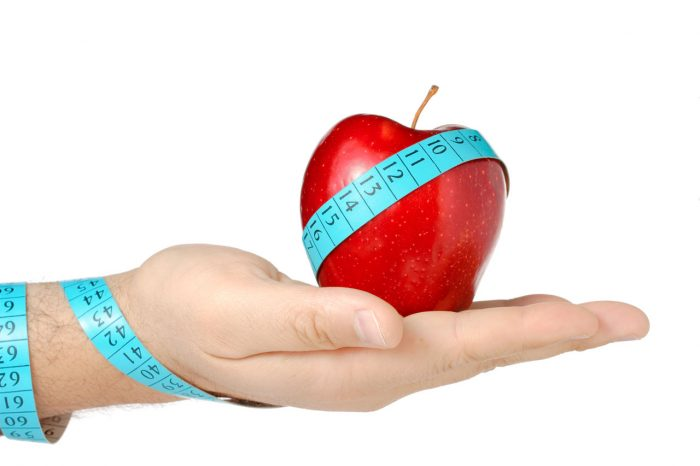 bajar-peso-manzana