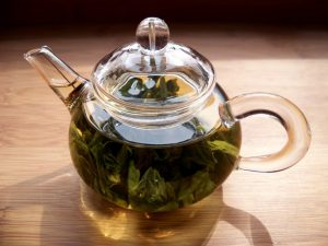 Hojas té verde