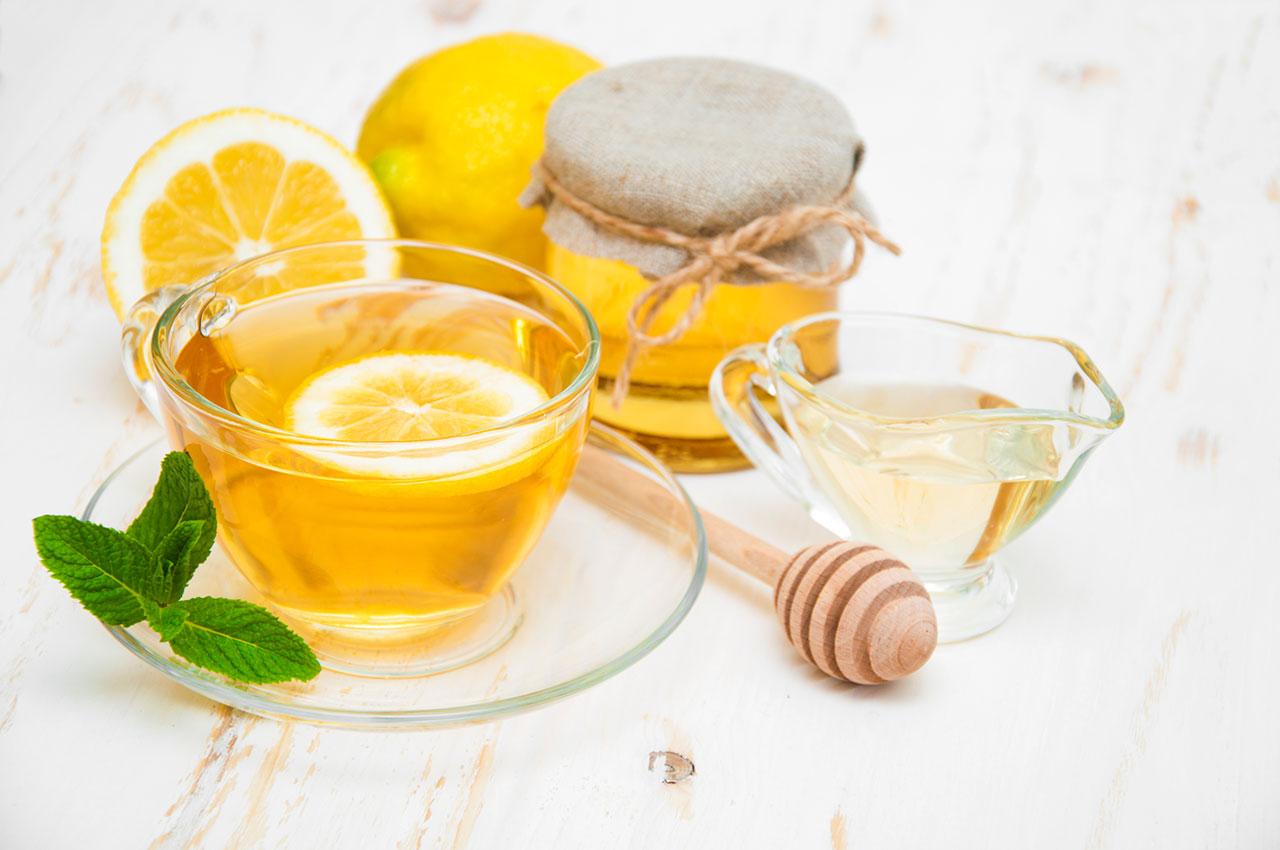 Limón y Miel para la Tos con Flemas