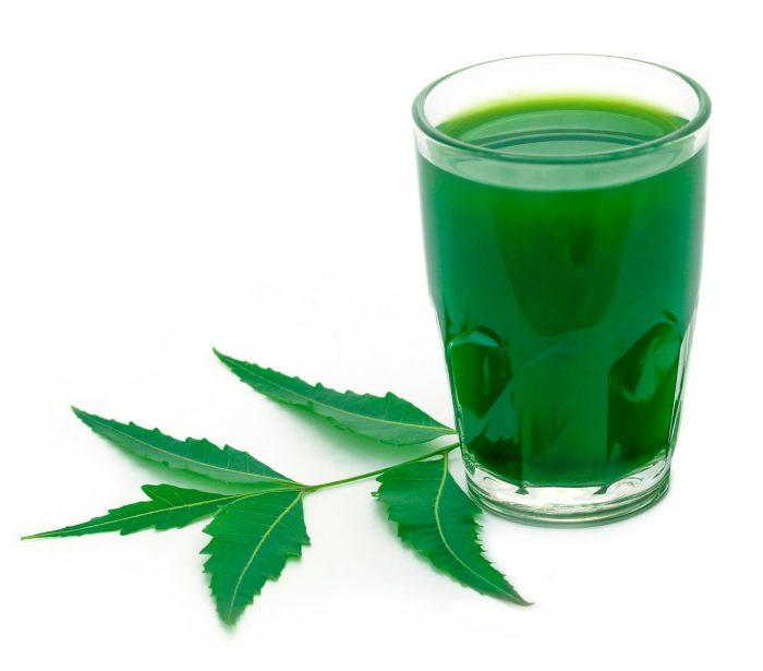 hojas-neem-jugo-zumo