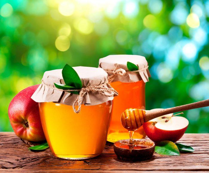 miel-manzana