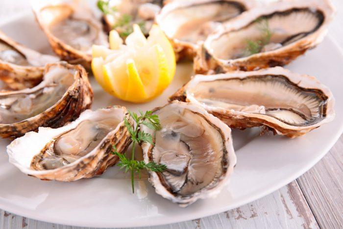 ostras-pescado-limon-alimentacion-dieta