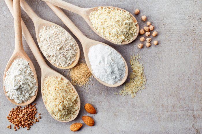 harina-sin-gluten-arroz-garbanzos-maiz-quinoa-almendras
