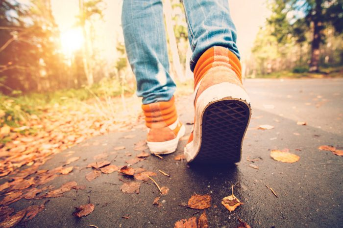 caminar-bosque-zapatillas-pies-libertad