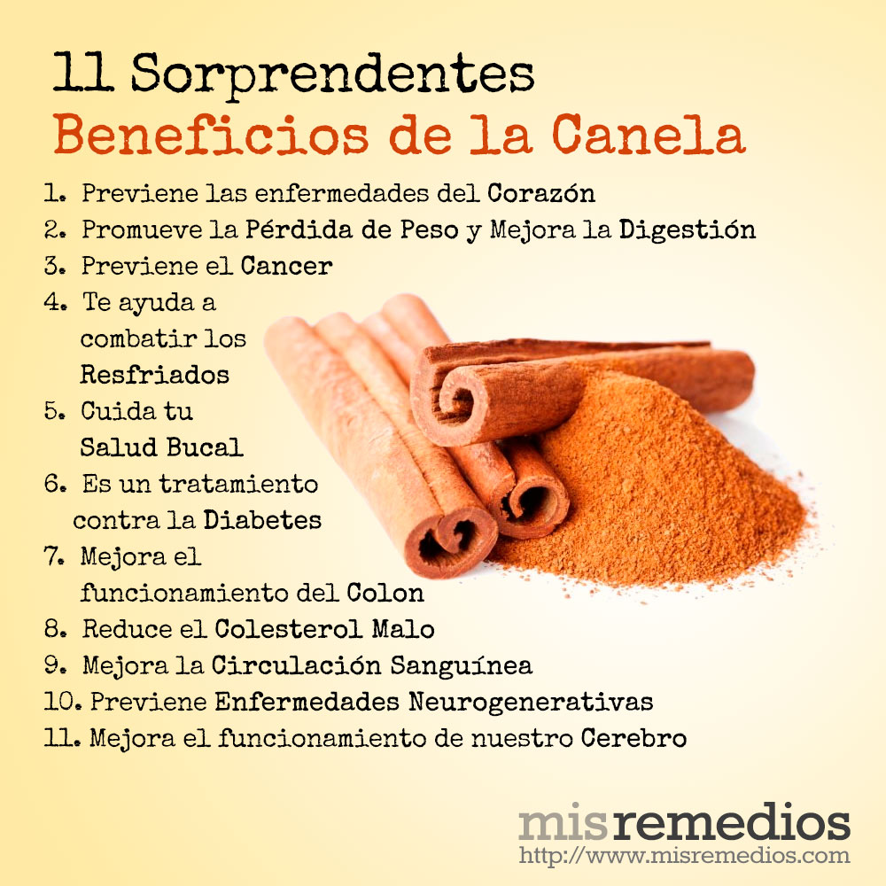 beneficios canela