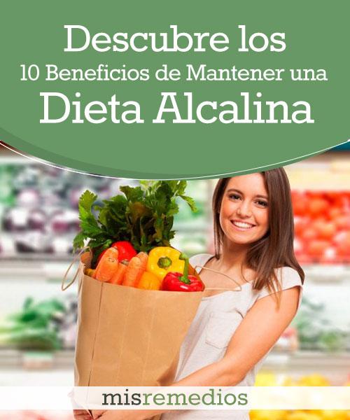 Descubre los 10 Beneficios de Mantener una Dieta Alcalina