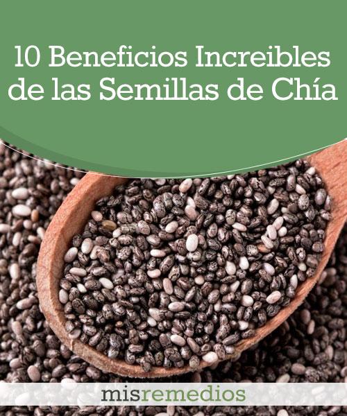 10 Beneficios de las Semillas de Chía que no te Dejarán Indiferente
