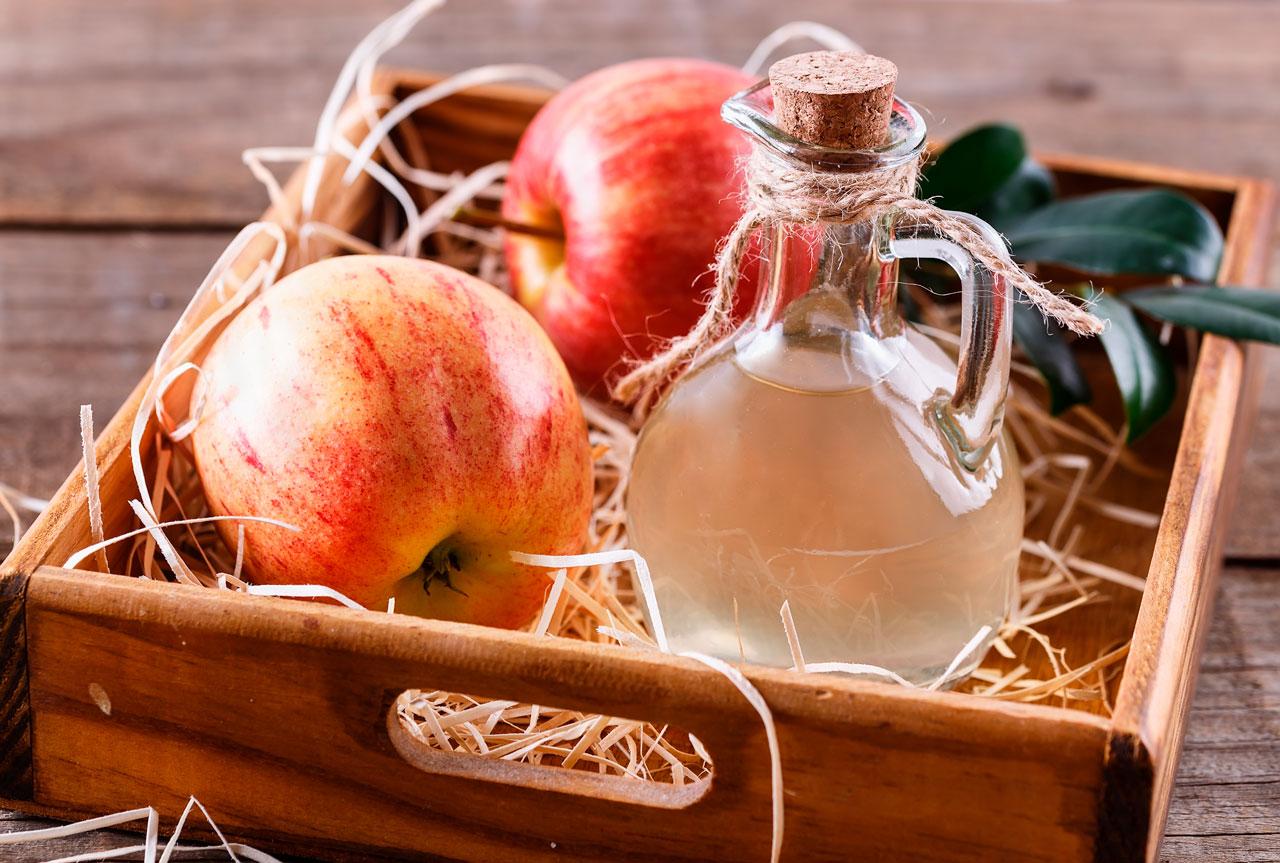Vinagre de Manzana para las Picaduras de Pulgas