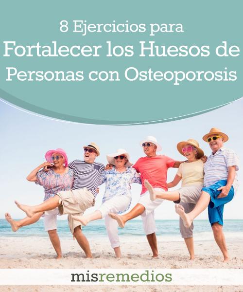 8 Ejercicios para Fortalecer los Huesos de Personas con Osteoporosis