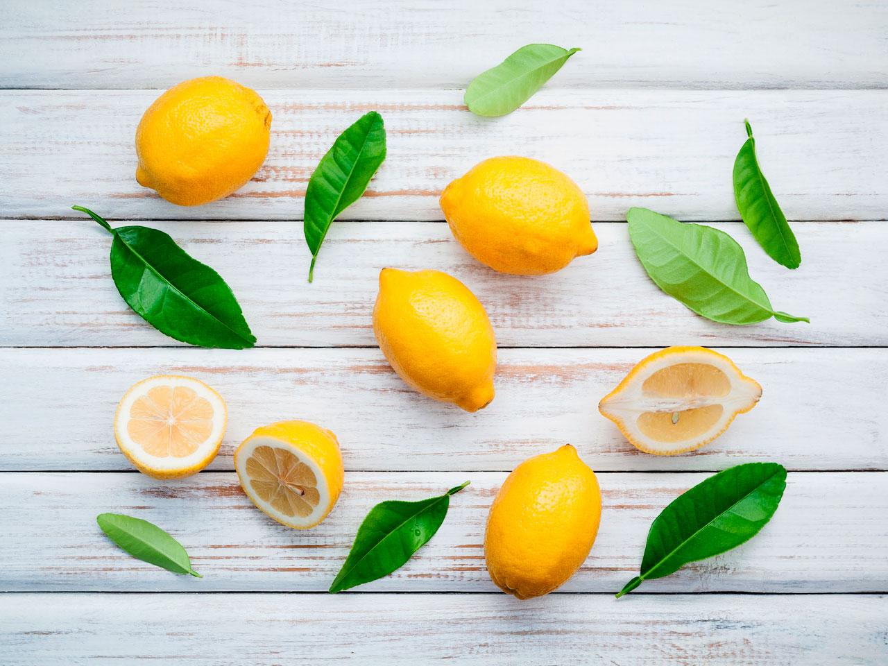 Infusión de Limón para las Picaduras de Pulgas