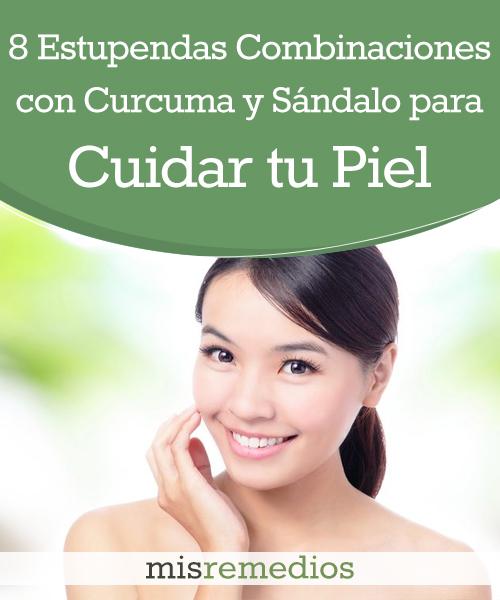 8 Estupendas Combinaciones con Cúrcuma y Sándalo para Cuidar tu Piel