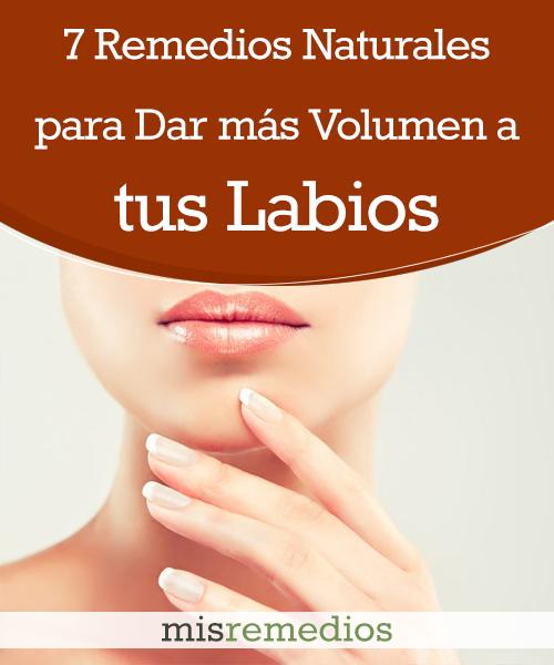 7 Remedios Naturales para Dar más Volumen a tus Labios